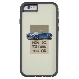 How do you turn this on blue cobra car tough xtreme iPhone 6 case