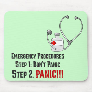How Doctors Respond to Your Emergency Mouse Pad