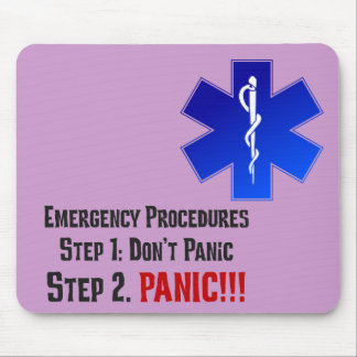 How EMTs Respond to Your Emergency Mouse Pad