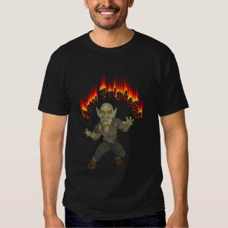 How Frightful Evil Halloween Goblin T-shirts