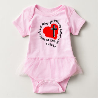 How Great Is My Father's Love! Baby Bodysuit