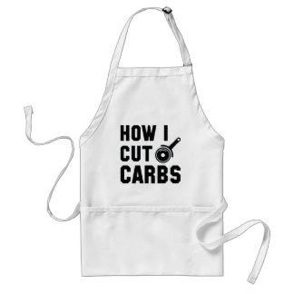 How I Cut Carbs Standard Apron