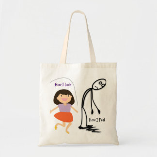 How I Look How I Feel Tote Bag