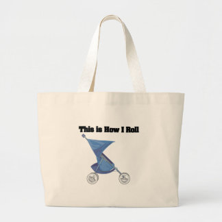 How I Roll Baby Stroller Tote Bag