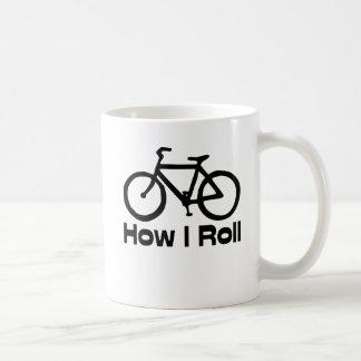 How I Roll Basic White Mug
