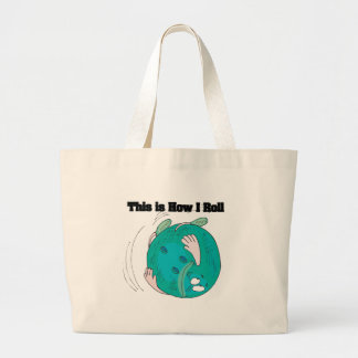 How I Roll (Bowling Ball) Tote Bag