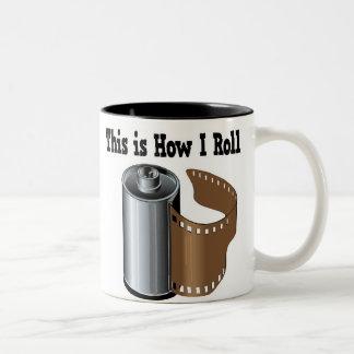 How I Roll Camera Film Mugs