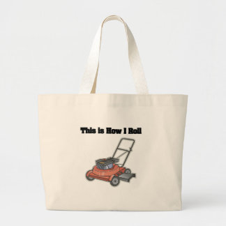 How I Roll Lawn Mover Canvas Bags