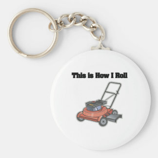 How I Roll (Lawn Mover) Key Chains