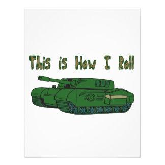 How I Roll (Military Tank) Invite