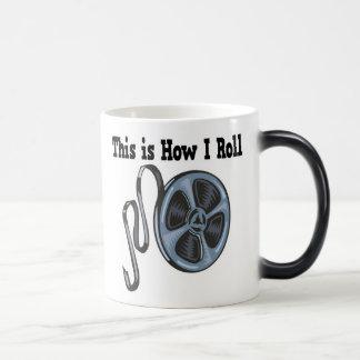 How I Roll Movie Film Tape Coffee Mugs