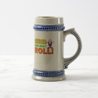 How I Roll Retired (2) Beer Stein