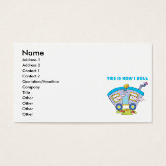 How I Roll (Trailer/Mobile Home) Business Card