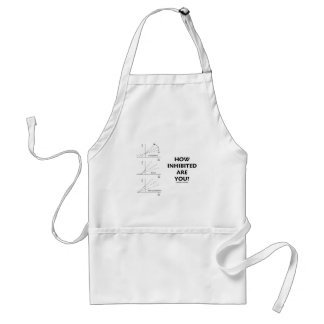 How Inhibited Are You? (Chemistry Enzyme Kinetics) Standard Apron