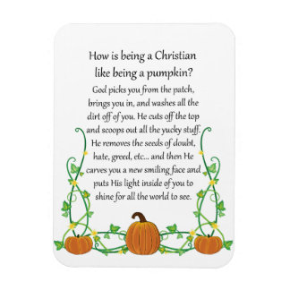 How is Being a Christian Like Being a Pumpkin Magnet