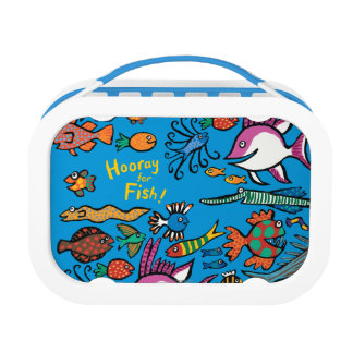 How Many Different Fish Can You See? Lunchboxes