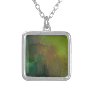 How many leaves silver plated necklace