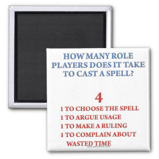 How Many Players to Cast a Spell Square Magnet