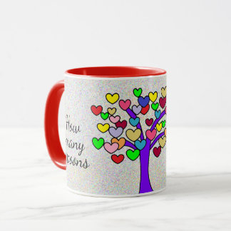 How many spoons of love Cute Love Tree Mug