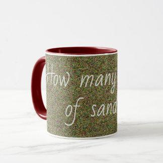 How many spoons of sand Colorful Fun Mug