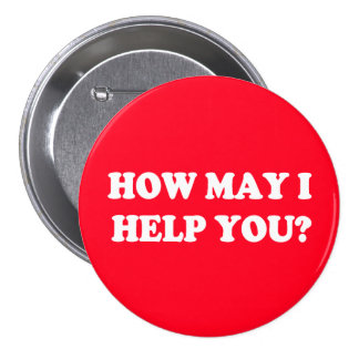 How may I help you button