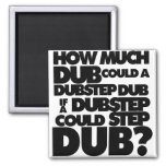 How Much Dubstep? Refrigerator Magnet
