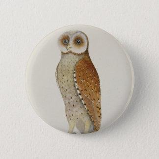 How now Bay Owl? 6 Cm Round Badge