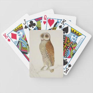 How now Bay Owl? Poker Deck
