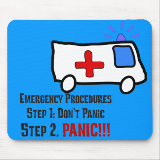 How Paramedics Respond to Your Emergency Mouse Pad