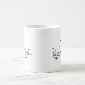 """How Planes Fly"" Coffee Mug"