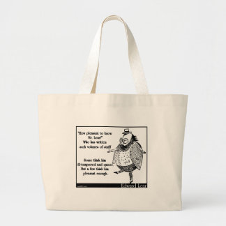 How pleasant to know Mr. Lear! Canvas Bag