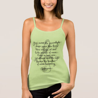 How Sweet the Moonlight, Shakespeare Music Quote Singlet