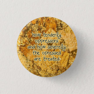 how tenderly 3 cm round badge