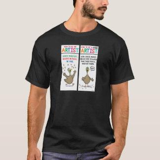 How To Be An Artist T-Shirt