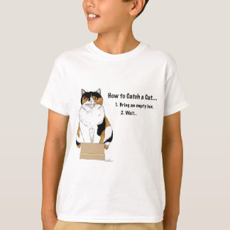 How to Catch a Cat T-Shirt