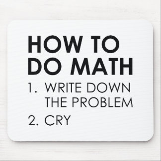 How To Do Math Mouse Pad