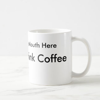 How to drink coffee for left handed people coffee mug