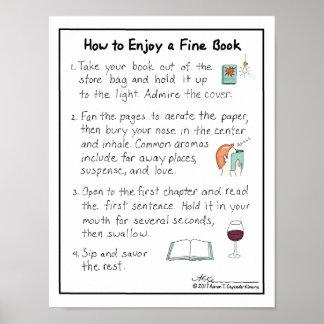 How to Enjoy a Fine Book Print