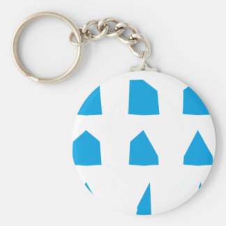 How to fold a Paper Aeroplane Instructions Basic Round Button Key Ring