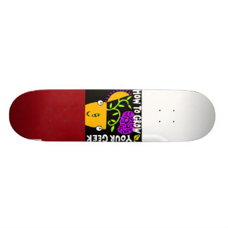 How To Grow Your Geek Skateboard, Magnet