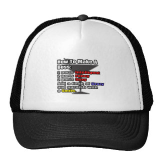 How To Make a Boss Hat