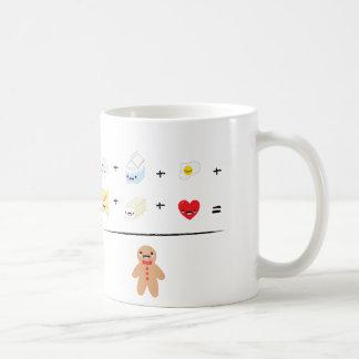 How to make a gingerbread man basic white mug