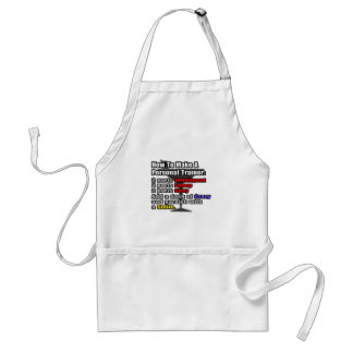 How To Make a Personal Trainer Aprons