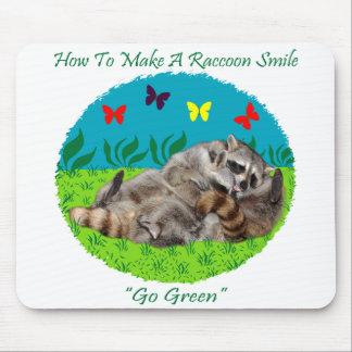 How To Make A Raccoon Smile Mousepad