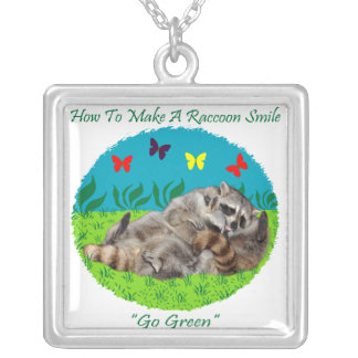 How To Make A Raccoon Smile Necklace