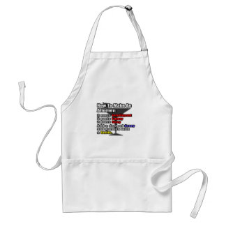 How To Make an Attorney Standard Apron