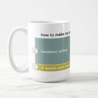 how to make my coffee coffee mug