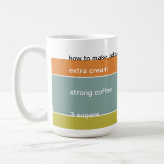 how to make my coffee coffee mug