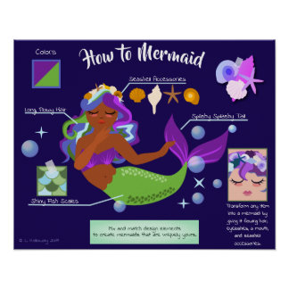 How to Mermaid Poster