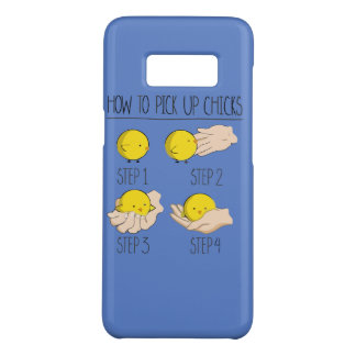 How to pick up of chicks Case-Mate samsung galaxy s8 case